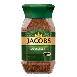 Кофе растворимый Jacobs Monarch, 190г , стекло